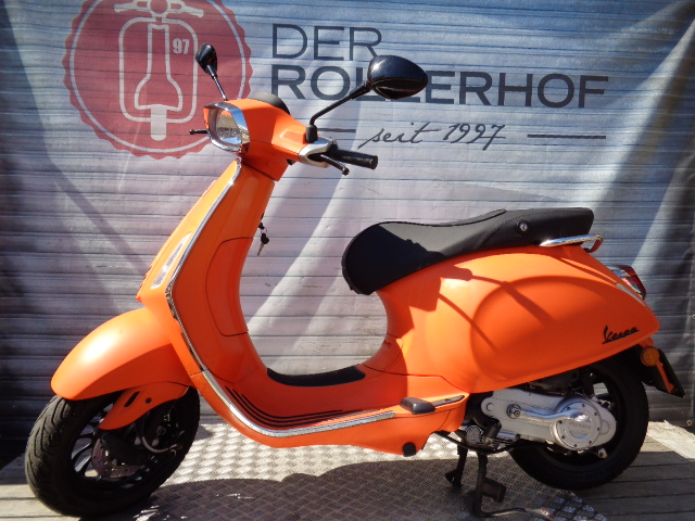 Vespa Automatik - Vespa Sprint  50ccm  4 Takt orange Edition