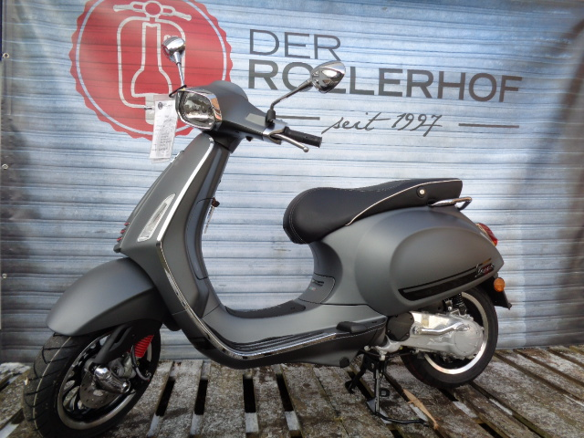 der rollerhof vespa automatik vespa sprint 50ccm sport matt grau. Black Bedroom Furniture Sets. Home Design Ideas