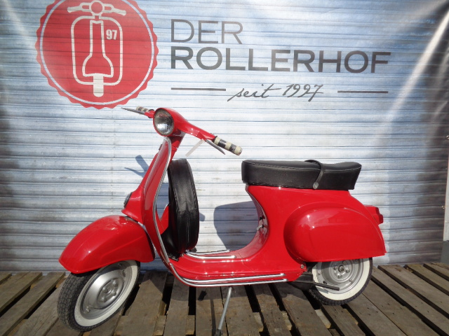 der rollerhof vespa smallframe vespa v 50ccm rot. Black Bedroom Furniture Sets. Home Design Ideas