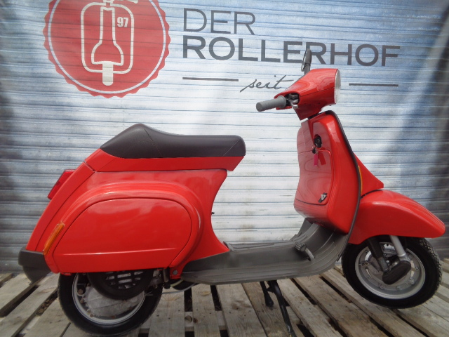 der rollerhof vespa smallframe vespa pk 50 xl v in rot. Black Bedroom Furniture Sets. Home Design Ideas
